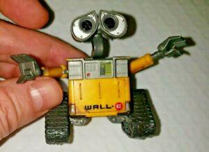 "Disney Pixar WALL-E Mini Figure 2 1/2"" Thinkway Toys - Poseable - Hard to find"