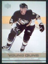 JORDAN STAAL 06/07 AUTHENTIC YOUNG GUNS ROOKIE CARD SP