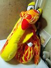 """Red yellow fire Snake Serpent Cobra Coiled Stuffed Plush 22"""" Animal Classic Toy"""