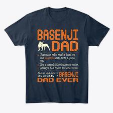 Basenji Dad Like Normal Father Premium Tee T-Shirt