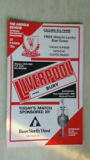 1979/80 LEAGUE CUP:: LIVERPOOL v. CHESTERFIELD (3rd Round)