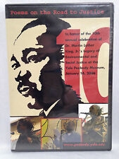 Poems on the Road to Justice (DVD, 2006) Yale Social Justice Poetry, SEALED!
