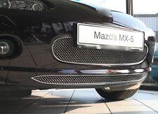 Mazda MX-5 NC 05-09 Edelstahl Kühlergrill unten 1-Teilig Kühlergitter Frontgrill