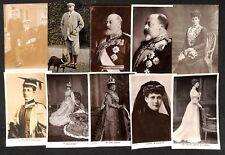 King Edward VII Queen Alexandra British Royalty lot 40 vintage postcards