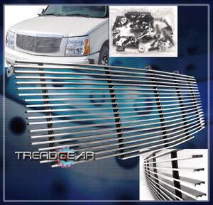 2002-2006 CADILLAC ESCALADE ESV EXT SUV FRONT UPPER BILLET GRILLE 2003 2004 2005