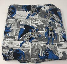 Pottery Barn Kids Batman Retired Full Flat Sheet DC Comics
