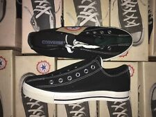 Vintage Converse Made In USA Shoes Green Black Bowling Style Brand New All Star