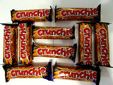 Cadbury 'CRUNCHIE BARS' 10 x 26.1g bars. Made in UK