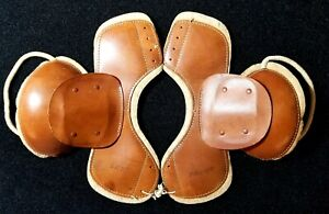 1920s Antique Football Shoulder Pads in High End Condition