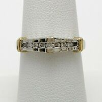 Diamond 10k Gold Wedding Anniversary Ring (5316D)