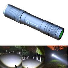 Mini CREE Q5 Waterproof Recharging LED Zoom Flashlight Torch Lamp Camping Light