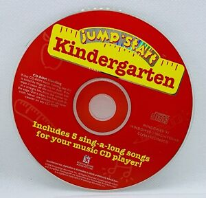 JUMP START KINDERGARTEN 1996 5 Songs PC Game Learning Interactive Windows/Mac