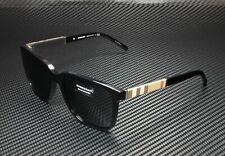 BURBERRY BE4181 300187 Black Grey 58 mm Men's Sunglasses