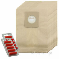 10 x Vacuum Cleaner Bags For Nilfisk King Series Hoover Bag + Fresh