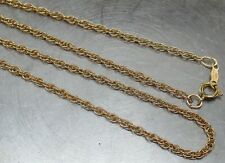 "Vintage 1/20 12K GOLD-FILLED Prince of Wales Chain 21"" Designer Necklace ~ L@@K!"