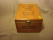 BACCARAT THE GAME BELICOSO WOOD CIGAR BOX