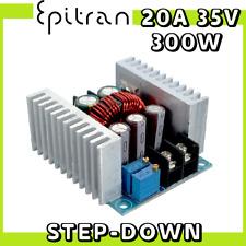 Alimentatore convertitore DC-DC step-down 20A buck converter regolabile 300W