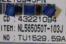 60pcs  inductor coil SMD 10mH 5% 25mA 150 ohm size 2220 NL565050T103J TDK