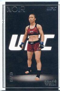2021 PANINI UFC CHRONICLES NOIR #/99 ZHANG WEILI NO. 330
