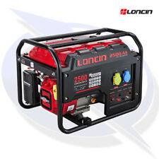 Loncin LC2500-AS 2.5KVA/2KW Frame Mounted Petrol Generator