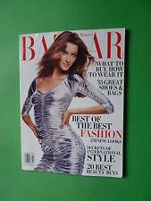 Harper's BAZAAR fashion magazine FEBRUARY 2003 GISELLE BUNDCHEN Demarchelier