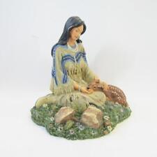 "Princess of the Plains Sculpture ""Wild Flower"" 1994 Hamilton Collection, Unboxed"