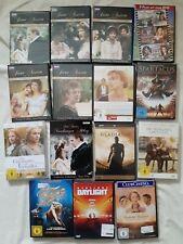 15 x DVD  Sammlung Stück Meist historische Filme Kostümfilme Austen Gladiatoren