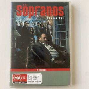 The Sopranos : Complete Season 6 (DVD) Australia Region 4