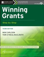 Winning Grants Step by Mim Carlson, Tori O'Neal-McElrath & TANM 3rd Edition