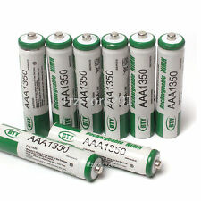New 8 Pcs AAA  Size 1350mAh 1.2V NiMH Ni-MH Rechargeable Battery for Cell RC