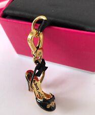 BN Viva La Juicy Couture Bracelet Charm 14K Gold Plated C Stiletto Heel Shoe