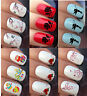 NAIL ART WATER STICKERS TRANSFERS DECALS WRAPS FLOWER OWL TINKERBELL CHERRY TREE