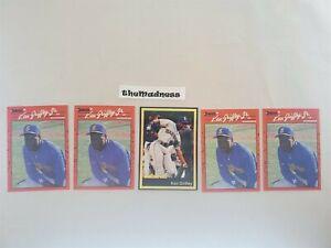 Lot Five (5) Ken Griffey Jr. Baseball Cards 1990 Donruss 1991 Ballstreet Seattle