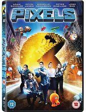 PIXELS             BRAND NEW SEALED GENUINE UK DVD