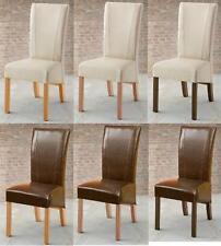 Massive Esszimmerstühle aus Massivholz