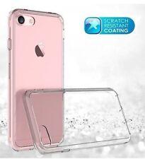 Transparente Cristal Transparente Gel suave caso cubierta de piel para iPhone 7 Nuevo
