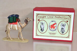 TROPHY MINIATURES DS53 EGYPT & SUDAN WAR CAMEL CORPS LADEN DRAUGHT CAMEL nz