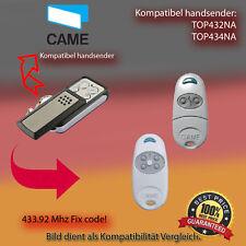 CAME TOP432NA,TOP434NA 433.92 MHz Kompatibel Handsender,Ersatz sender Fixex code
