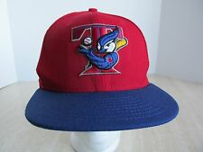 MLB TORONTO BLUE JAYS Red Baseball Cap NEW ERA 59FIFTY Mens Fitted Hat Sz 7 NWT