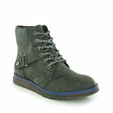 Ladies Rocket Dog Boots SIZE 4 Ankle Boot Shoes Genuine Mesa GALAXY Blue GREY