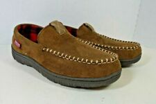 LEVI STRAUSS Signature Slippers Mens Sz 9-10 Brown Rubber Sole Good Condition
