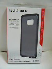 Tech21 Evo Frame Case for Samsung Galaxy S6 Edge+ (PLUS) Smoke/Black SUPM45742