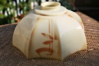 Arts & Crafts/Mission Style Glass Lamp Shade Vintage Rare 5.5 Inches
