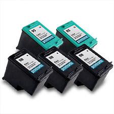 5PK HP 98 95 Ink Cartridge C9364WN C8766WN for OfficeJet H470 100 150 6310 6310v