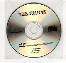 (GP430) The Vaults, Friday Night - Monday Morning Blackout EP  - DJ CD