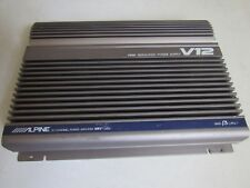 Old School Alpine V12 MRV-1000 Car Amplifier