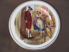 samsonite churchill cries of london fine black cherries collectors plate