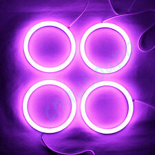 Angel Eyes Cotton RGB Light Car Headrest LED Ring For BMW E46 Cabrio / Coupe 2D