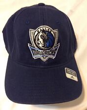 ADIDAS DALLAS MAVERICKS CAP ONE SIZE FITS ALL COLLEGIATE NAVY