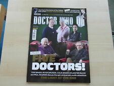 Doctor Who Magazine # 465 New Doctors 4-8 Baker Davison McCoy,McGann Baker